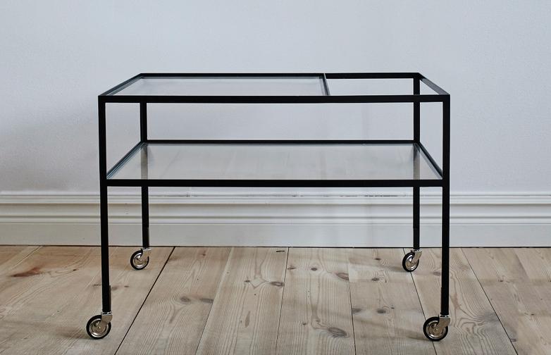 Herbert Hirche bar wagon