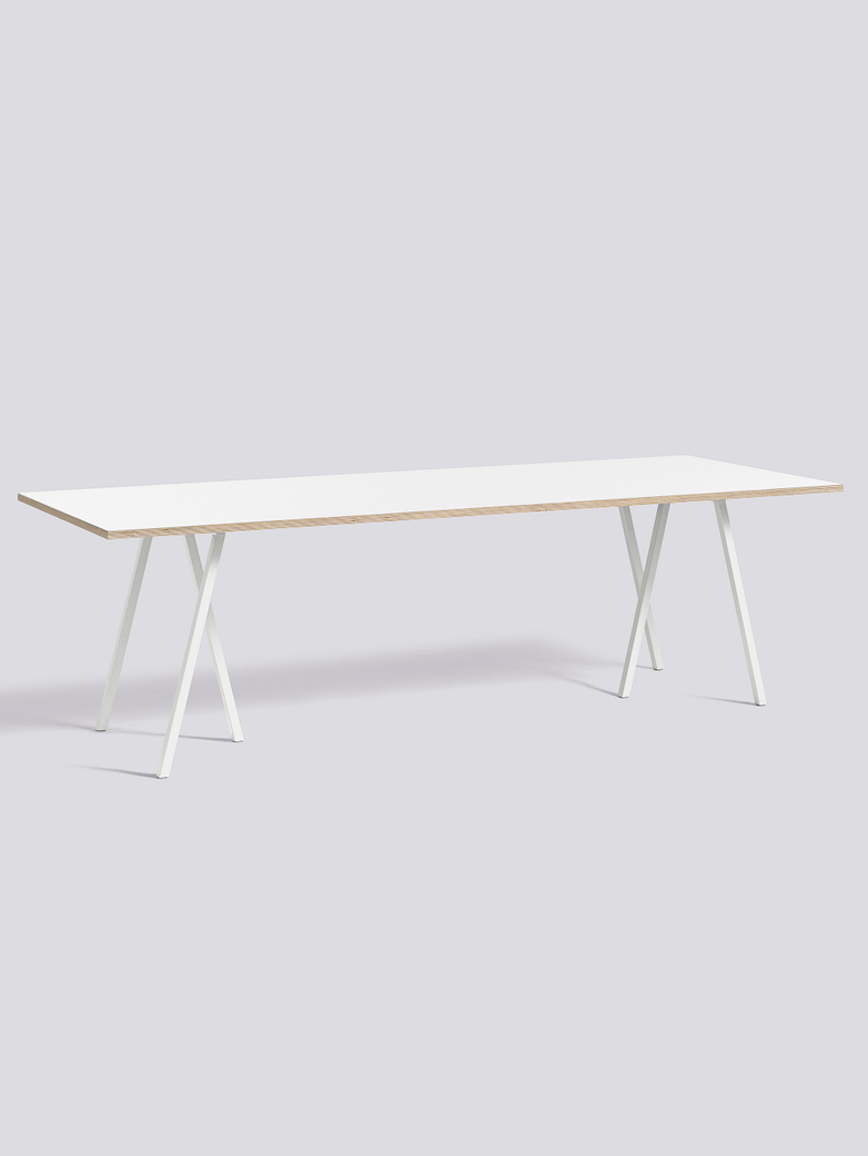 Loop Stand Table White