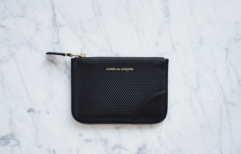 Luxury Pouch Wallet Small Black