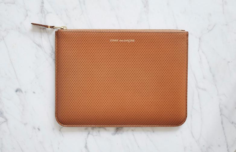 Luxury Pouch Wallet Beige