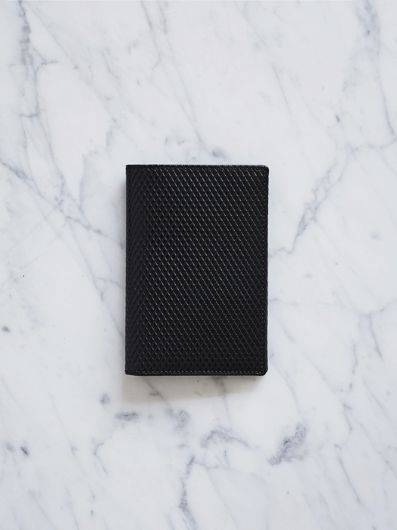 Luxury Card Wallet Black