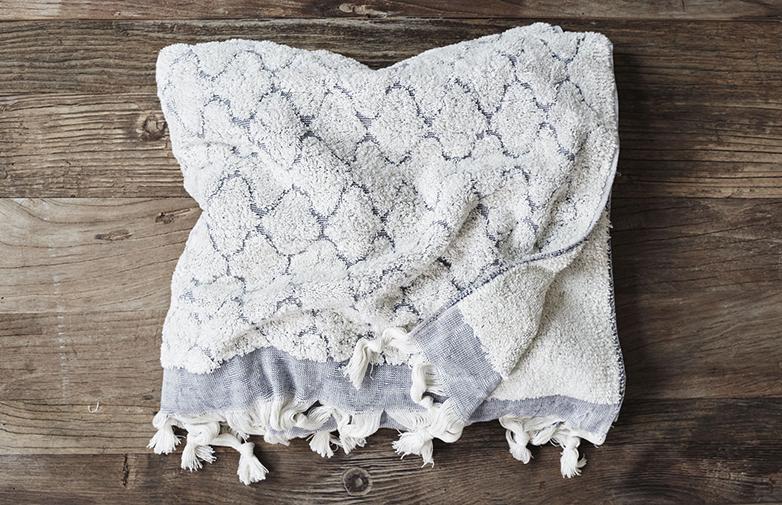 Fringe Tile Towel