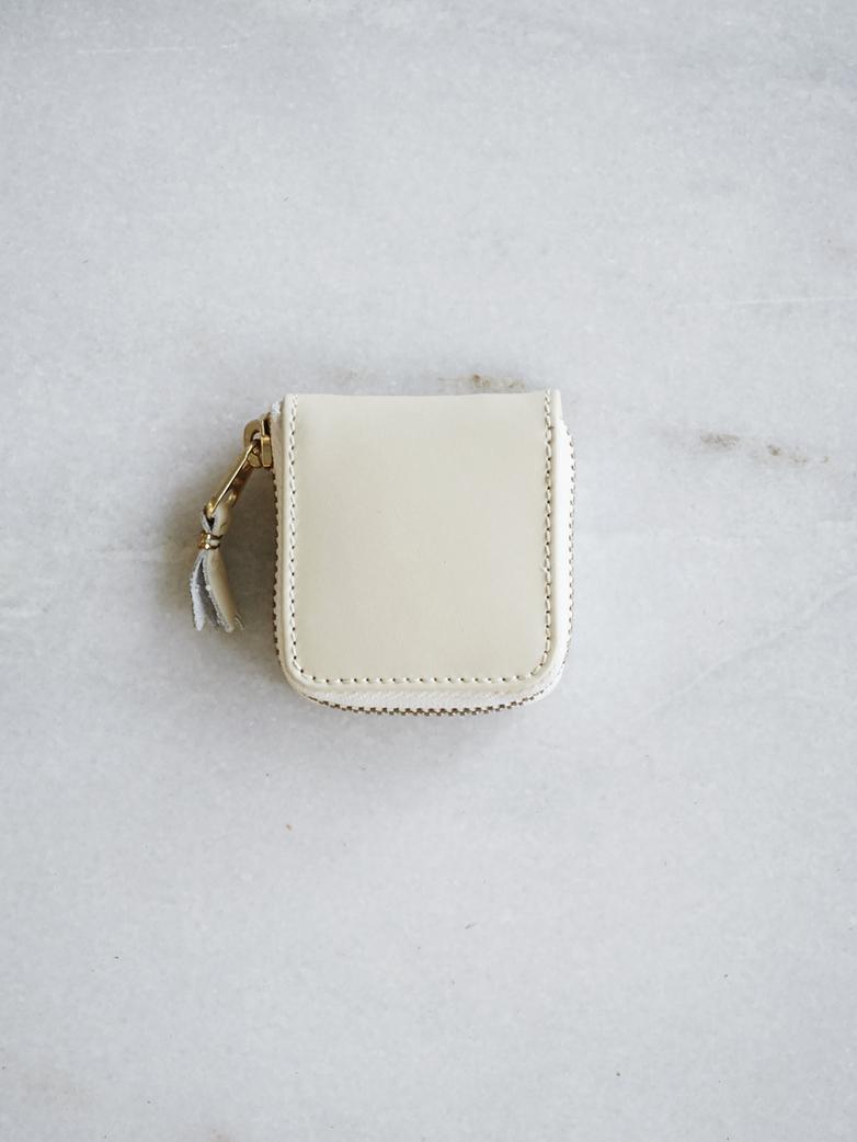 Classic Coin Case White