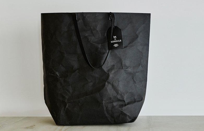Monocle Paper Market Shopper Black