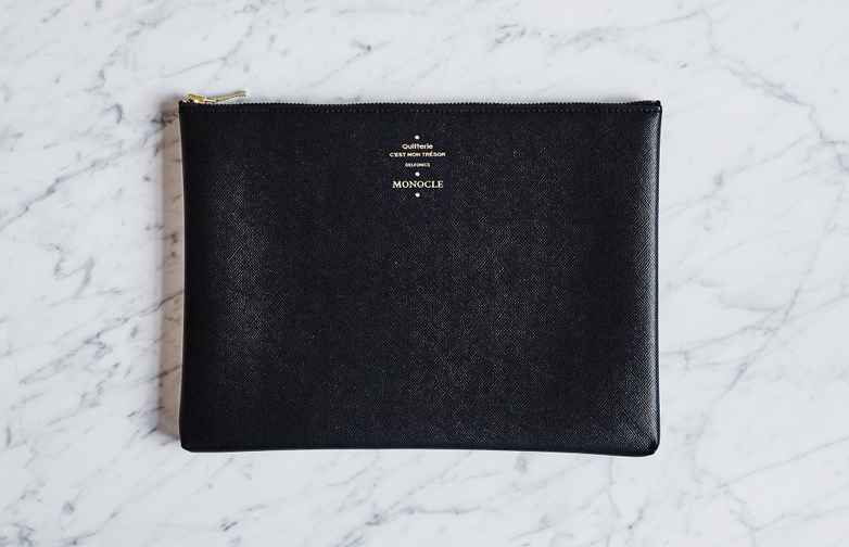 Delfonics Large Zip Case Black