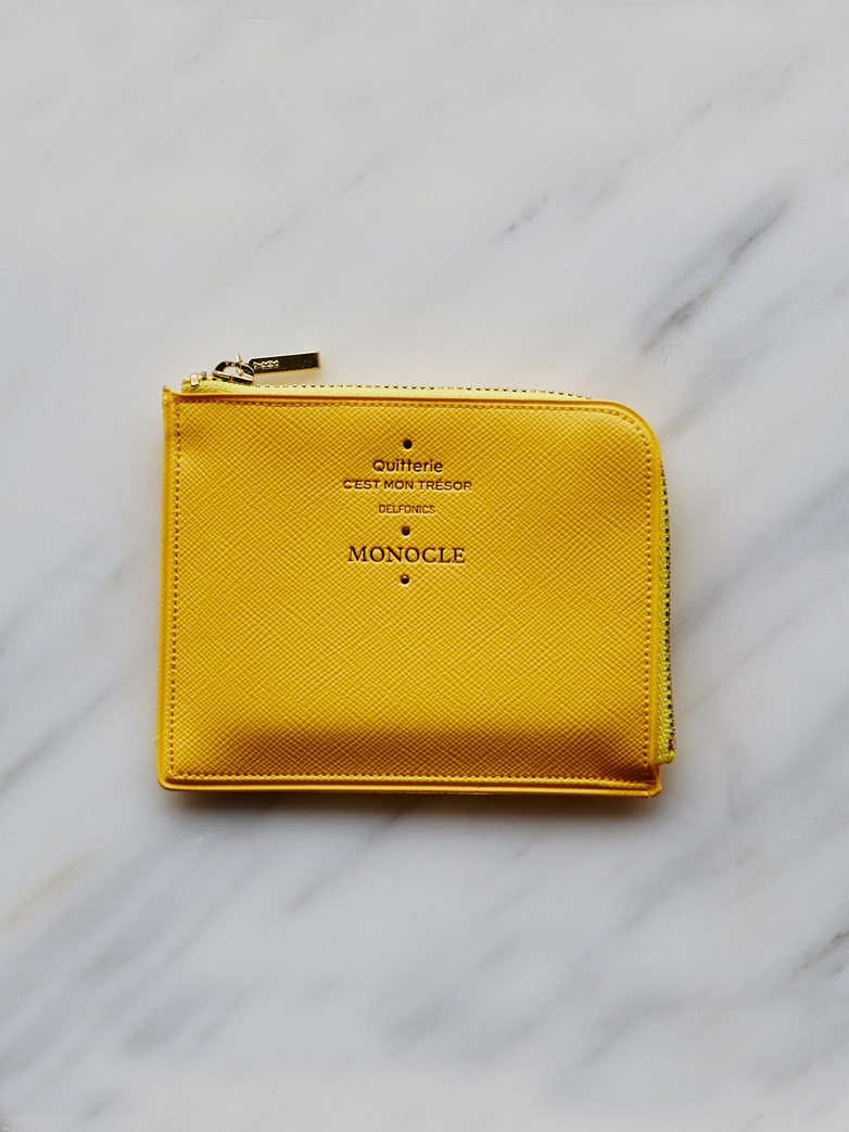 Delfonics Half Zip Case Yellow