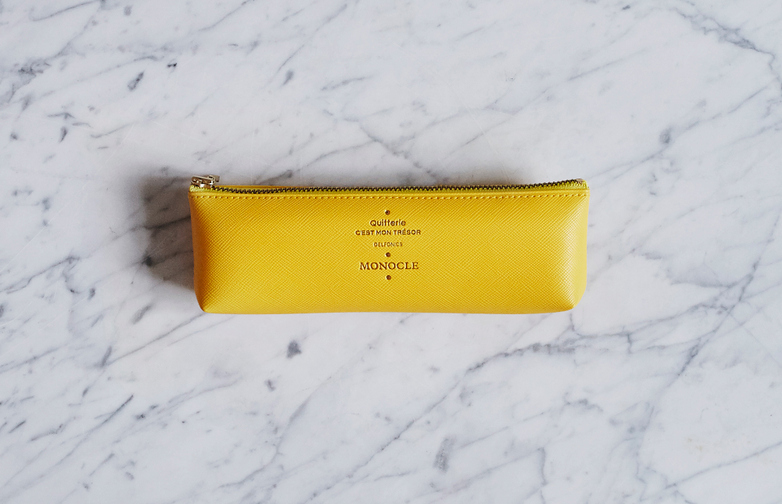 Delfonics Pencil Case Yellow