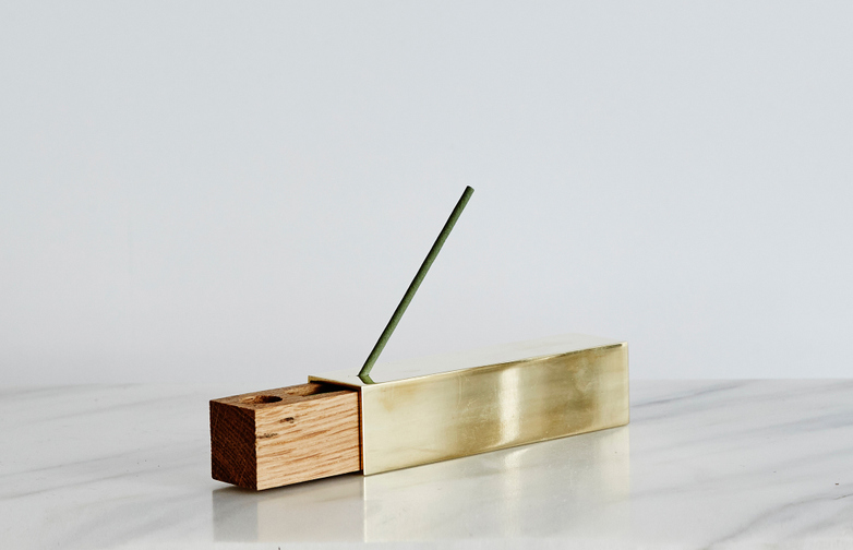 Monocle Brass Incense Burner