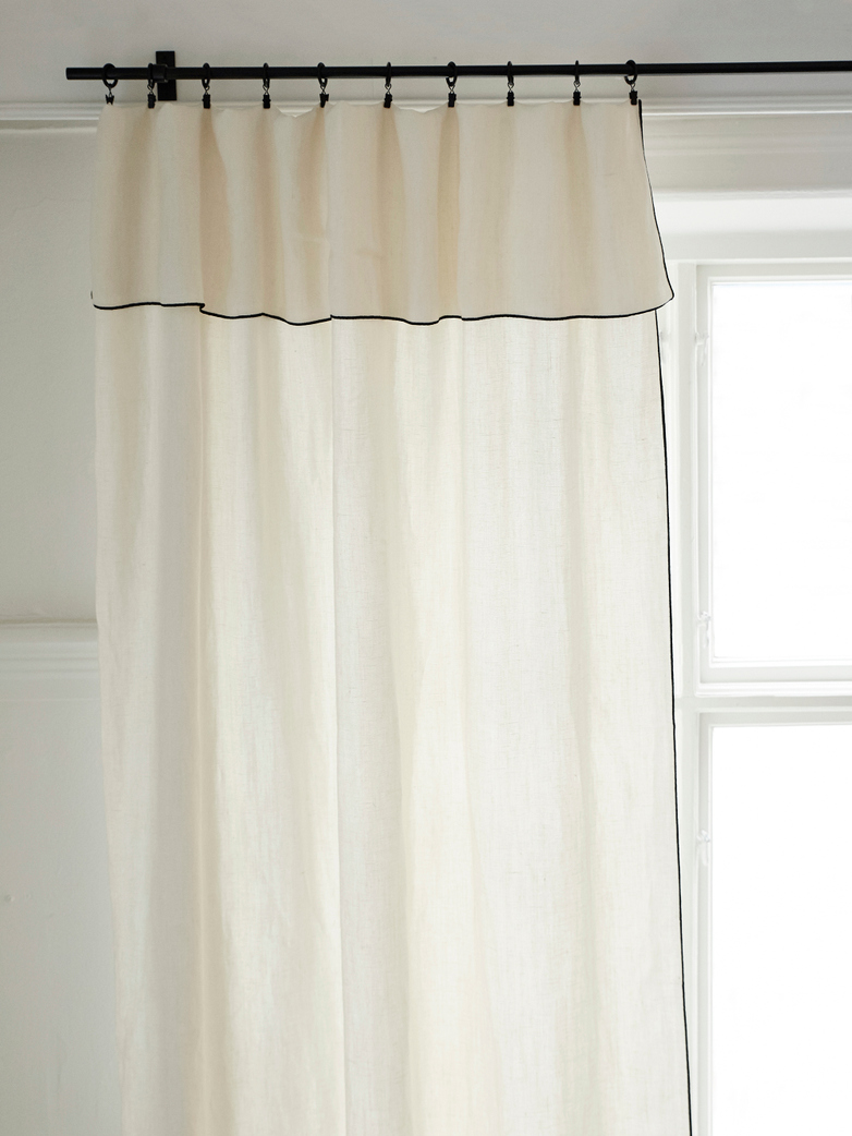 Maya Curtain Lin Sauvage Ivoire 3 M