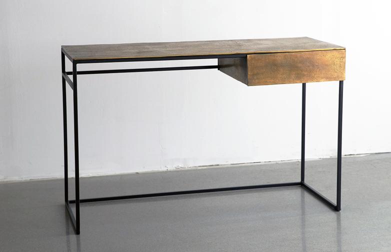Brass Frame Desk