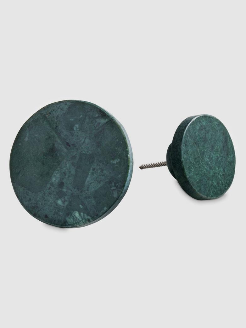 Green Marble Coat Hooks