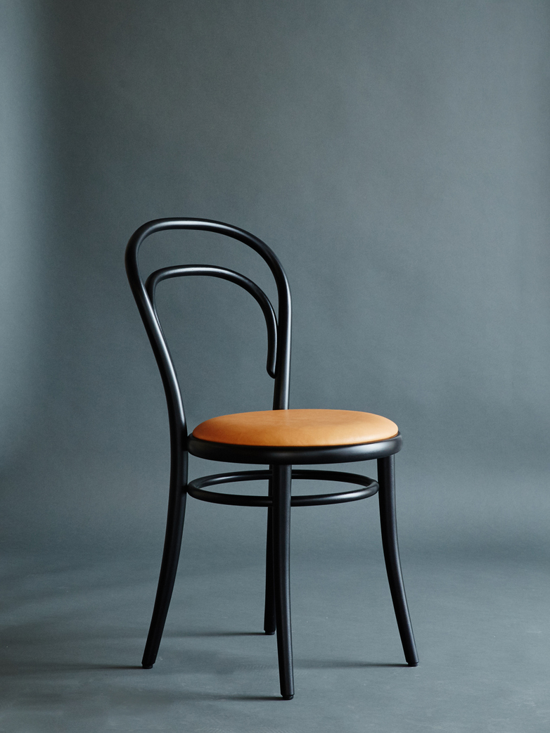 Artilleriet Edition Chair 14 Black Tärnsjö Leather