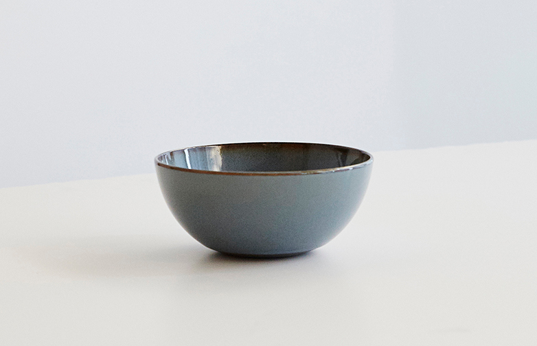 Smokey Blue Bowl
