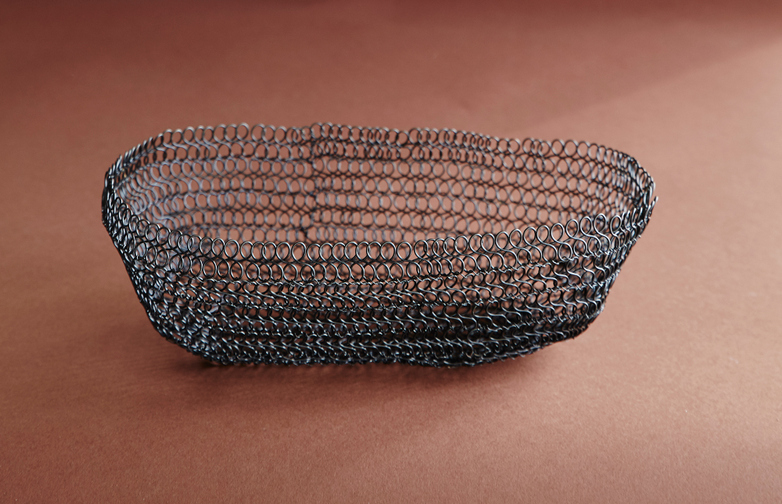 Kiyo Wire Lace Basket