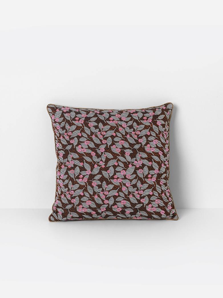 Salon Cushion Flower Rust 40x40 cm