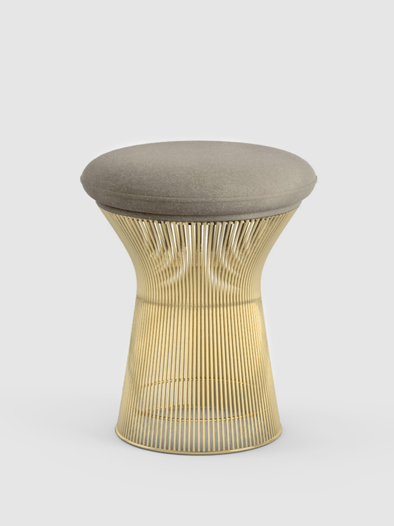 Platner Stool 18 K Gold