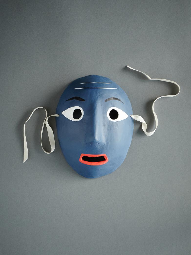Mood Mask Dark Blue