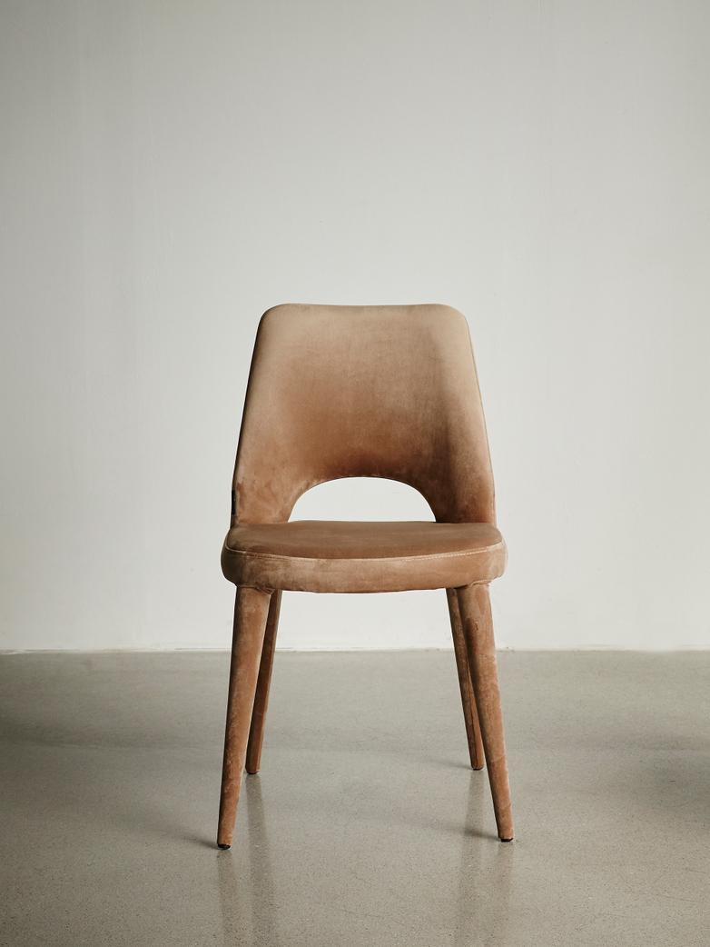 Chair Holy Velvet Beige
