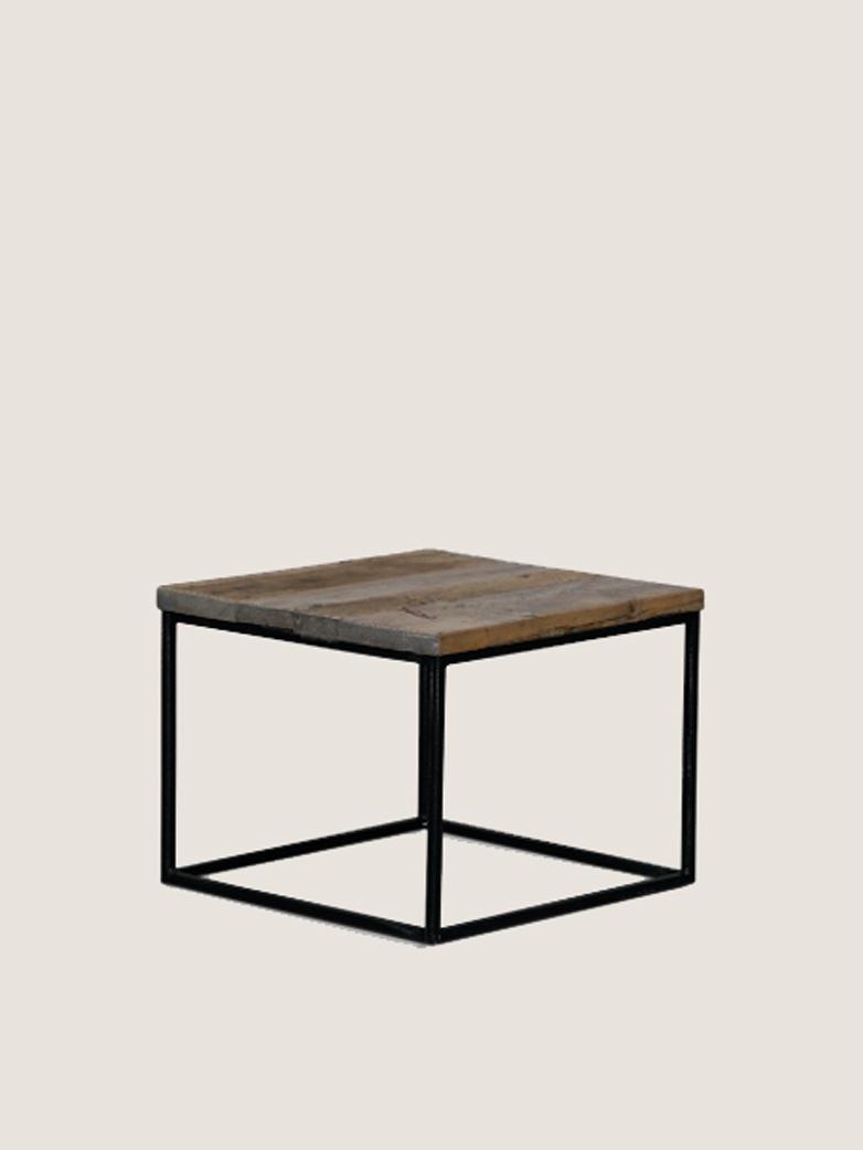 Reclaimed Sofa Table 50x50