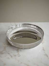 Steel Mirror Basket