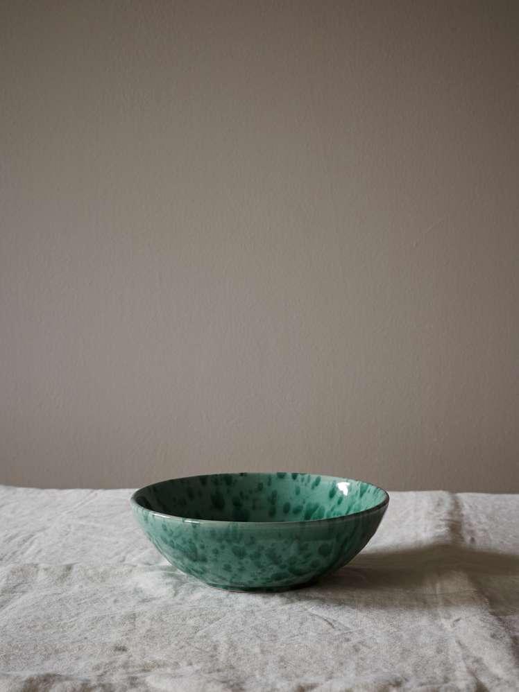 Spruzzi Vivente - Small Salad Bowl - Green