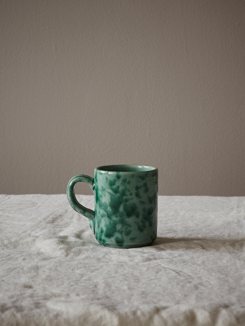 Spruzzi Vivente - Mug with Handle - Green