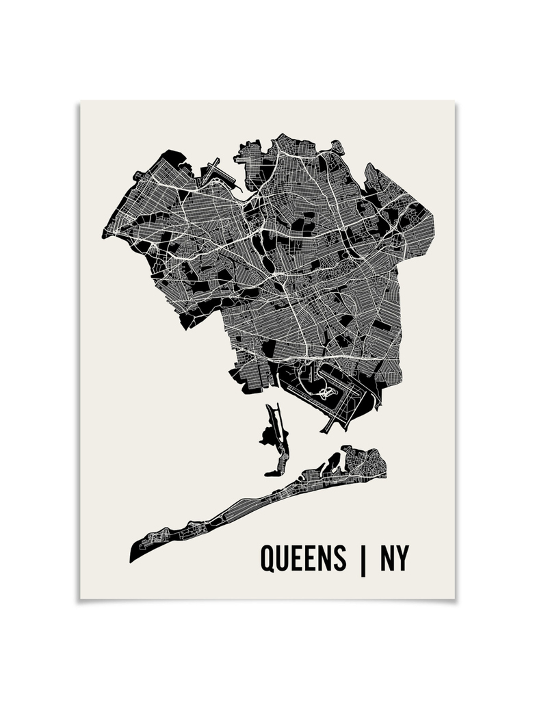 Monochrome Queens Map