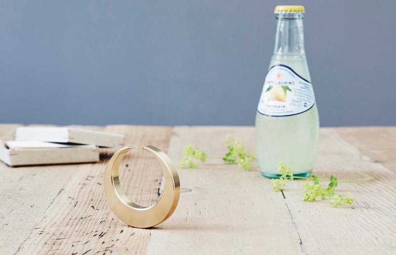 Crescent Bottle Opener