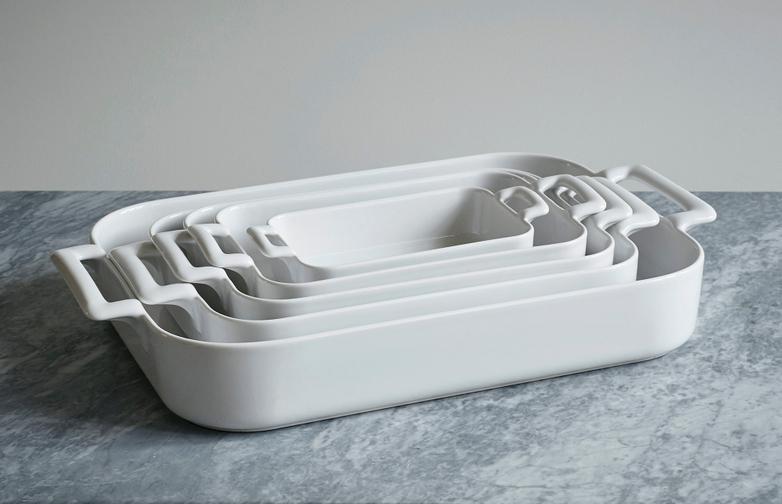 Belle Cuisine Roasting Dish White