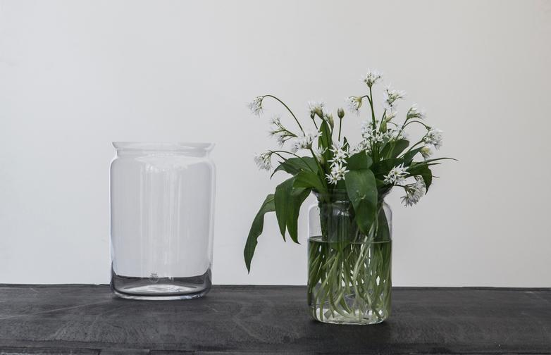 Bellman Glass Jars