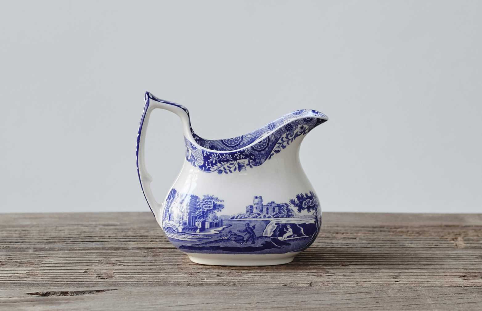 Blue Italian Cream Jug