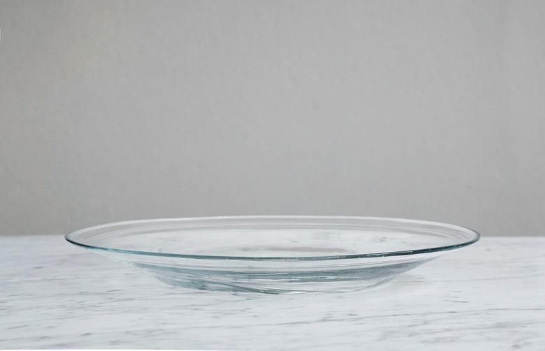 Iranian Glass Dinner Plate