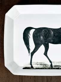 Plate Cheval