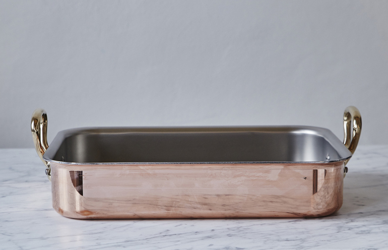 M'150 Roasting Pan 35x25 Copper