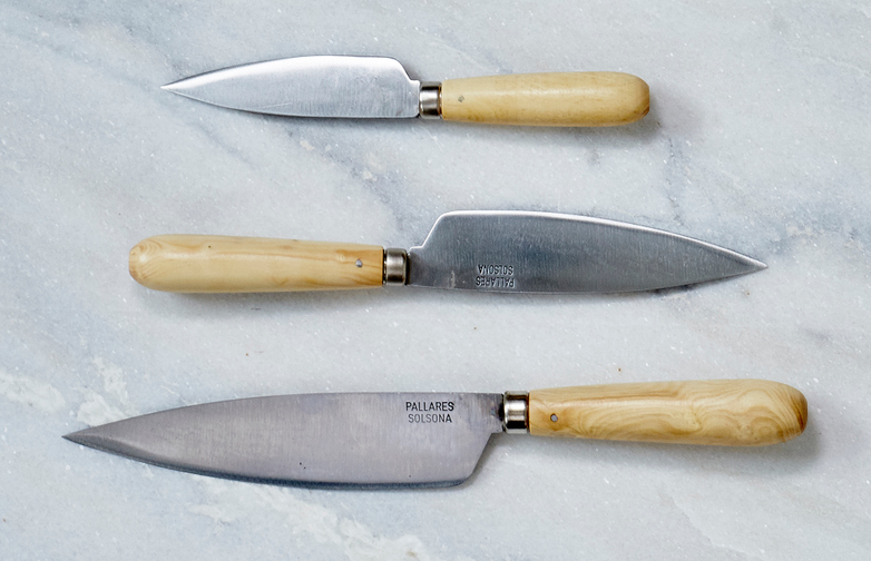 Pallarès Traditionell Kitchen Kniffes 3-pack