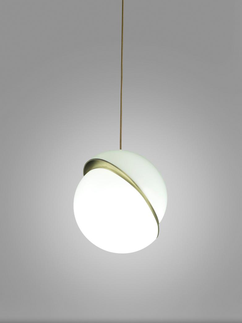 Crescent Light Pendant