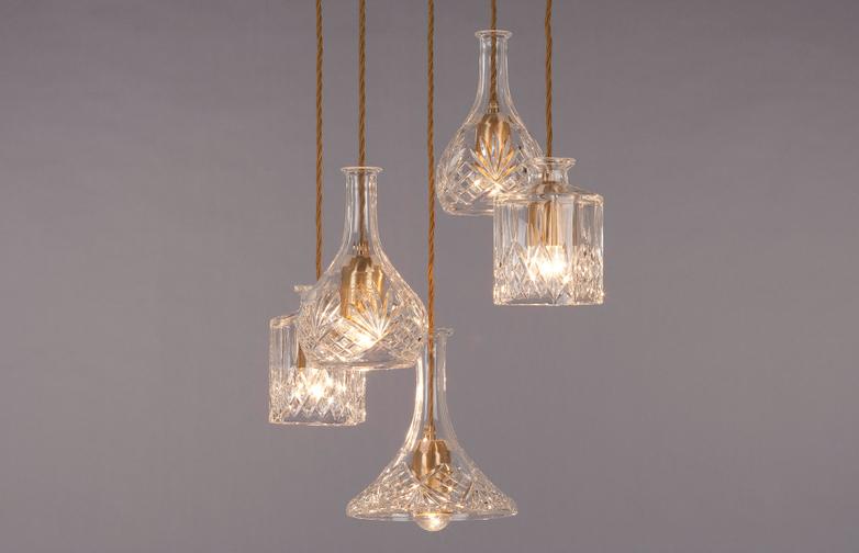 Decanterlight chandelier