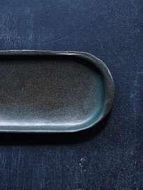 Nero Oval Platter