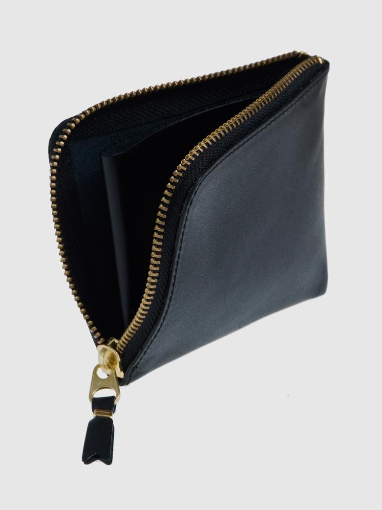 Classic Zip Wallet Black