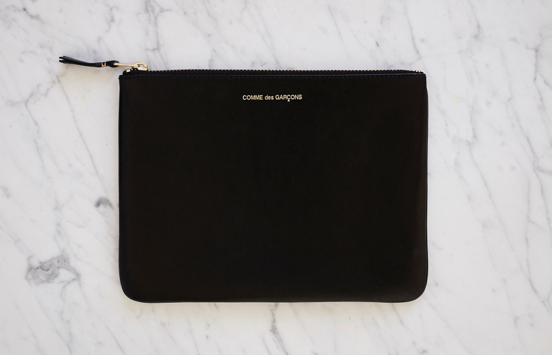 Classic Pouch Wallet Black