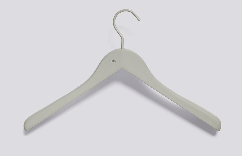 Soft Coat Hanger Grey