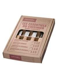 Essentials Paring Knife Set, Beech