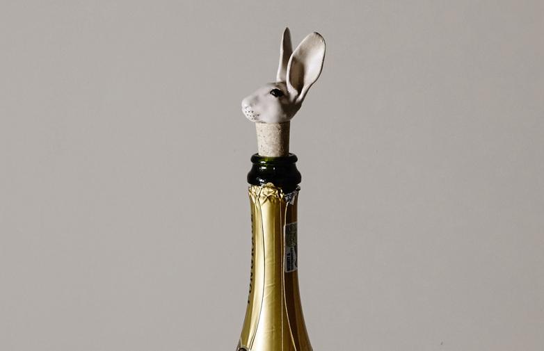 Bunny Bottle Stopper