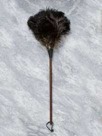 Feather Duster Black 80 cm