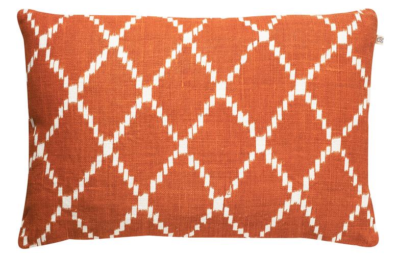 Ikat Kerala Jaffa Orange 50x50 cm